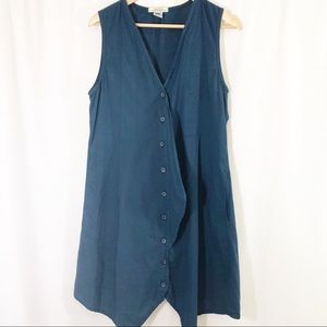 Prairie Underground Sleeveless Shirt Dress Organic